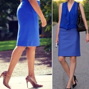 J. Crew | No. 2 Pencil Skirt Double Serge Cotton
